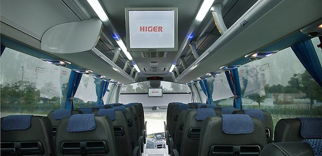 салон Higer KLQ6122B