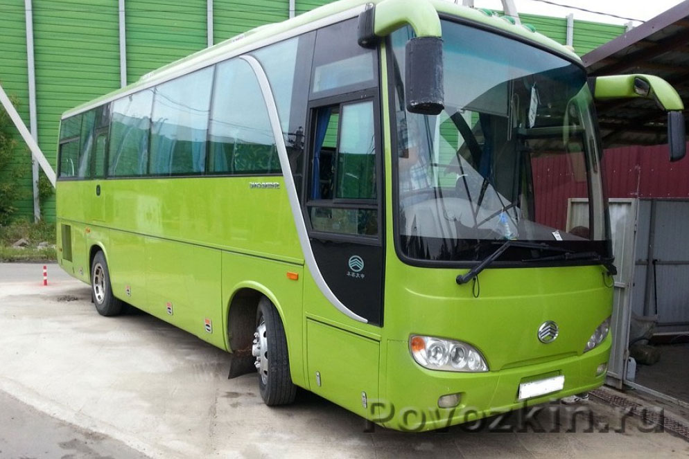 Заказ автобуса на 35 человек