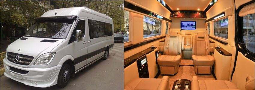 Заказ микроавтобуса на свадьбу в Москве
