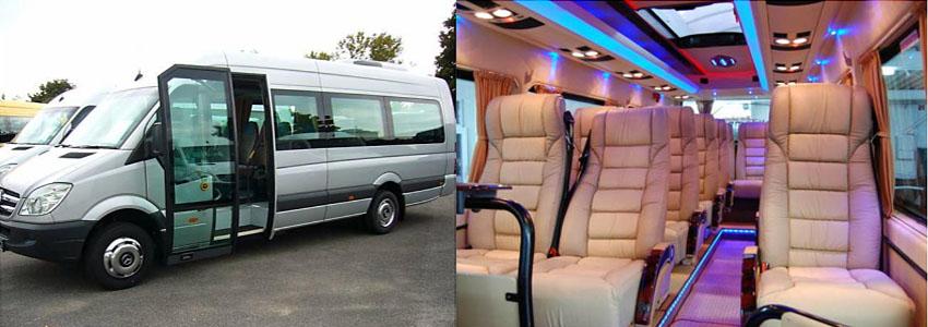 Заказать свадебный микроавтобус