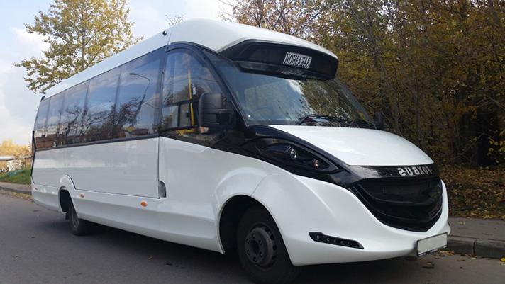 Аренда туристического автобуса с водителем