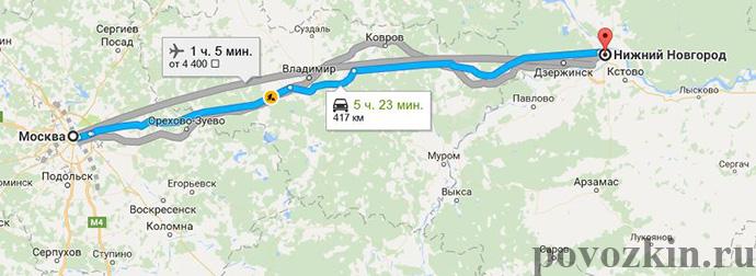 Аренда микроавтобуса в Нижний Новгород