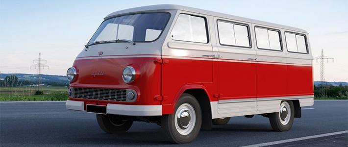 Советский микроавтобус