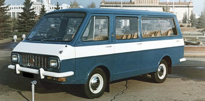 Советский микроавтобус - РАФ-2203